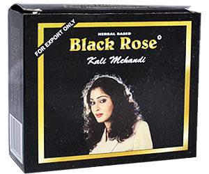 Black rose henna kali mehandi hair dye-poeder