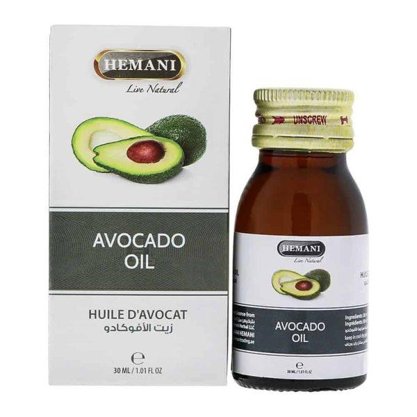 Hemani Avocado-olie - Huile d'avocat 30 ml