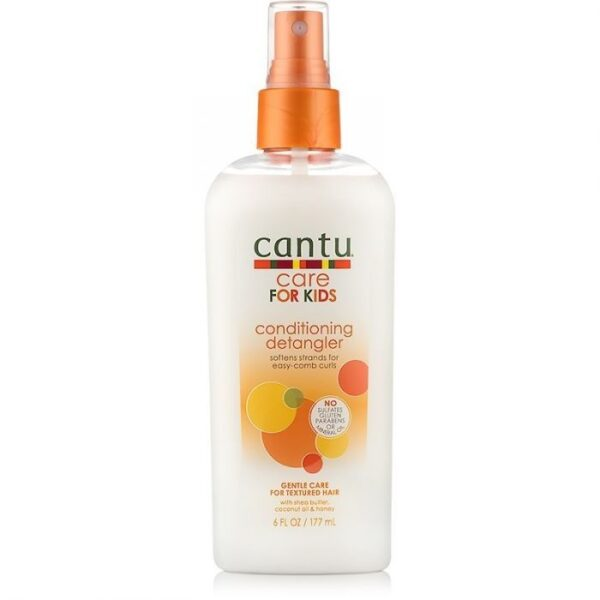 Cantu Care For Kids Conditioning Detangler - Conditioner Kinderen Krullend Haar 177 ml