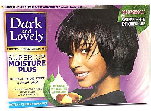 Dark and Lovely No-Lye Super Relaxer Kit