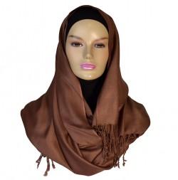 Pashmina sjaal bruin