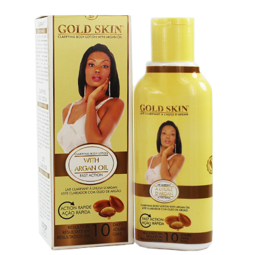 Gold Skin Fast Action Clarifying Body Lotion with Argan Oil 250 ml
