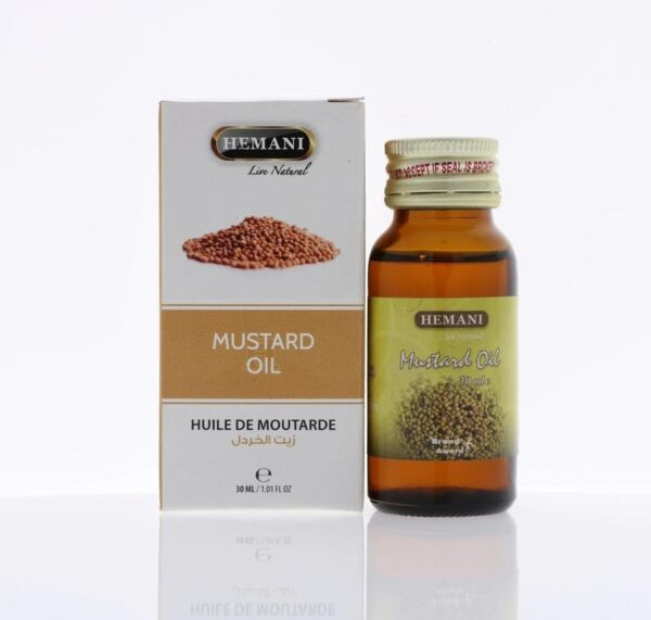 Hemani Mustard oil - Huile de moutarde 30 ml