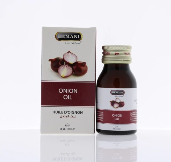 Hemani onion oil - huile d'oignon 30 ml