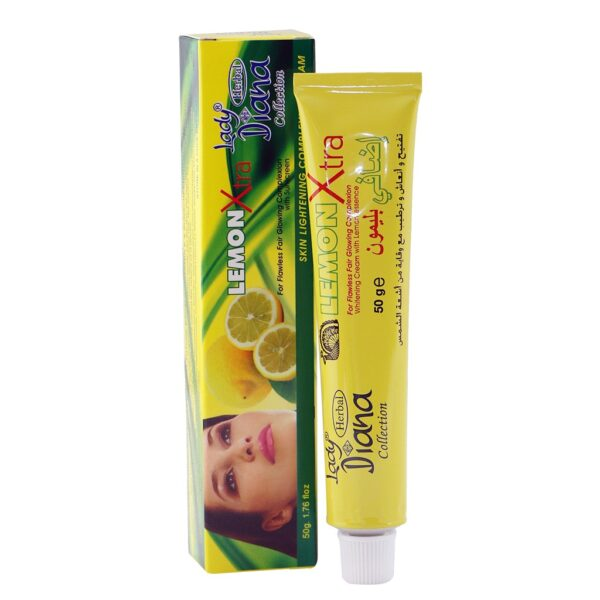 Lady Diana Lemon Extra Skin Lightening Cream, 50 g