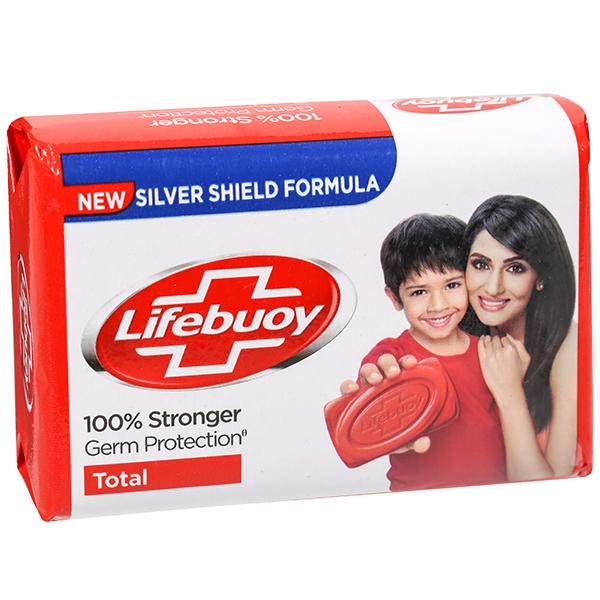 Lifebuoy soap 100% stronger germ protection total - zeep
