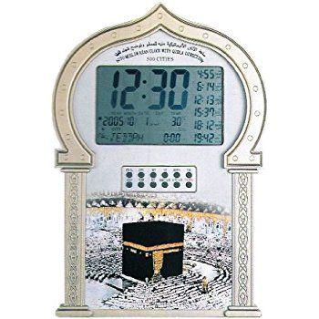 Islamitische Azan Klok Moskee 1000 Steden