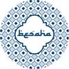 Besaha borden blauw - 6 stuks