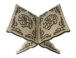 Afgewerkt Koran houder groot