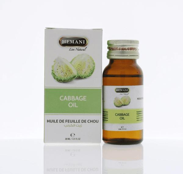 Hemani Cabbage oil - huile de feuille de chou 30 ml