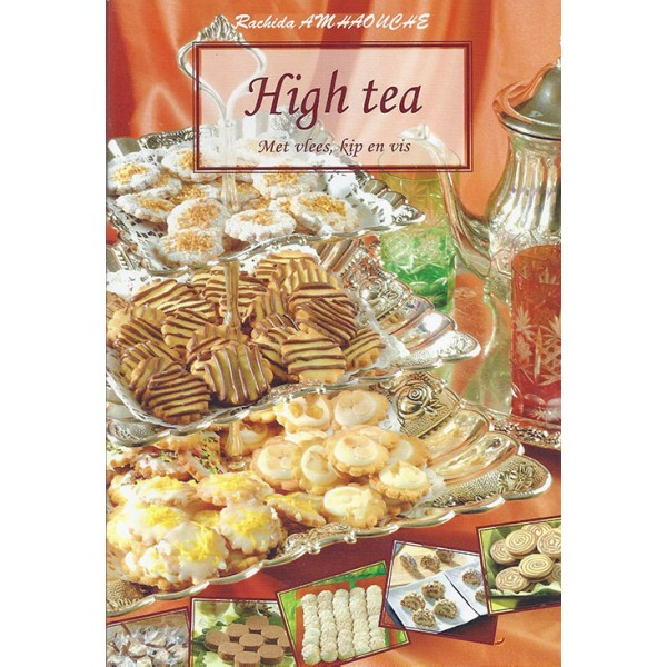 Kookboek high tea met vlees, kip, en vis