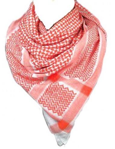 Palestina sjaal Rood/Wit